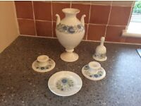 Selection of wedgewood bone China. Clementine design.