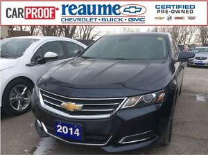 2014 Chevrolet Impala LT Sunroof Heated Seats Safety Package
