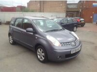 2008 Nissan Note 1.4 Good Condition with 1 Owner history and mot