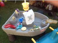 Little Tikes - Outdoor Toys-Slide, Pirate Ship Water Play Table, Kitchen, Whale Double Rocking Horse