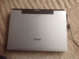 Philips Laptop, hardly used, 15 inch screen, Carry case, Windows XP, Office 2000 Premium