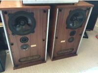 2 b&w dm2 speakers . No offers .
