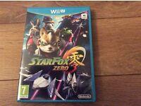 Wii U starfox zero game