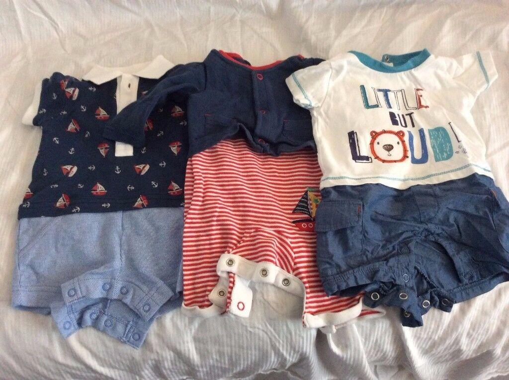 Baby boys bundle – newborn to 3 months