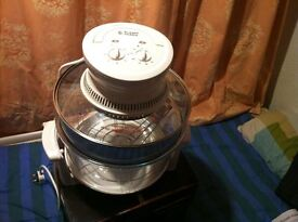 Russell Hobbs Halogen Oven (Mint Condition Only used once) 16L, 1400W, Variable Temperature