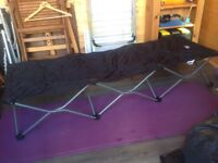 Camping bed single, Sunncamp, easy to erect.