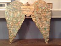 Handmade vintage Angel wings