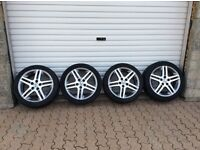 Alloys for a Honda 17 inch 5 stud with 225/45/17 tyres