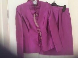 Reduced Gloria Estelles silk suit