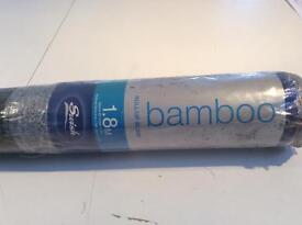 SWISH GREEN BAMBOO ROLL UP BLIND BRAND NEW 1.8m BARGAIN