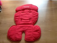 iCandy Apple / Pear Main seat liner Red