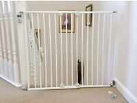 Wall Fix Extending Metal Gate by Safety 1st