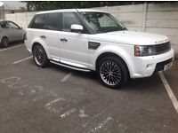 Range Rover sport in white in mint condition