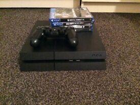PS4 Black 1TB