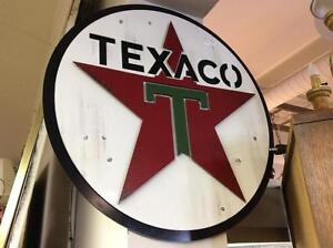 Reproduction Texaco Sign
