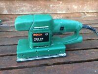 Bosch PSS 23 Orbital Sander with PKP 13E Electric Glue Gun Pistol