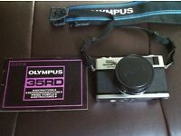 Olympus 35RD Camera with Zuiko 40mm Lens