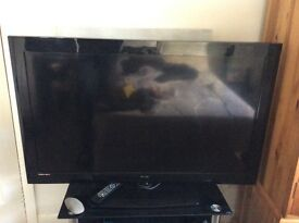 Technika 46 inch LED tv, second hand, perfect condition. Includes fully working remote.