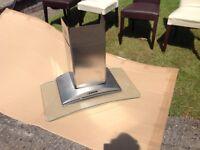 SMEG extractor fan glass
