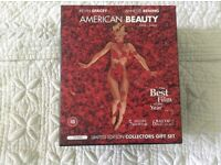 """A Limited Edition Collectors Gift set of """"American Beauty"""" in VHS Box Set."""