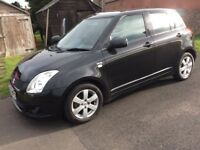 Suzuki swift Diesel 5Door in Black 1.3 2008 on a 58 plate