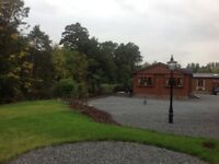 New lodge in Auchterarder for rent