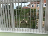 Conservatory blinds for 3 large windows off white colour good condition offers and viewing ok