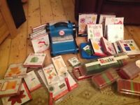 Big shot cutting and embossing machine plus loads of accessories