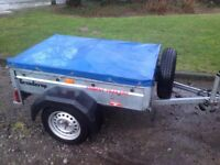 Trident brenderup trailer with cover