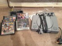 PlayStation PS1 with 2 controllers and 5 games for sale