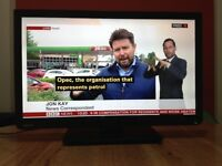 Toshiba 24 inch Ultra Slim HD LED TV built in Freeview, USB great condition