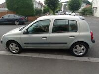 *12 Months MOT* Renault CLIO, 2004, 1.2 with Alloy wheels