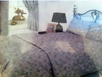 curtains and matching bedspread XXX NEW XXX
