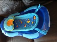 Baby bath with sling for sale