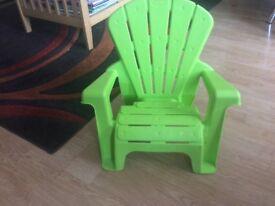 Little tikes chair for age 18mths - 4yrs
