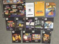 Nintendo 64 Instruction Booklets
