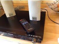 Home cimema Panasonic surround sound speakers