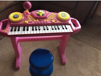 Keyboard Fifi And The Flower Tots And Stool