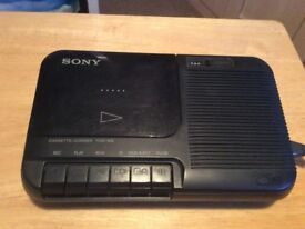 Sony TCM 818 Cassette- Recorder/Player