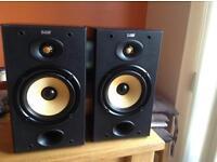 B&W 601 S1 bookshelf speakers
