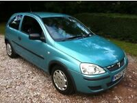 2005 VAUXHALL CORSA 998CC LOW INSURANCE , LOW MILEAGE . ONLY DONE 67K FROM NEW.