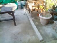 Reinforced concrete lintel