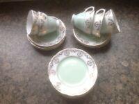 Vintage Genuine Fine Bone China Tea Set