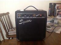 Squire fender sp 10 practice guitar amp