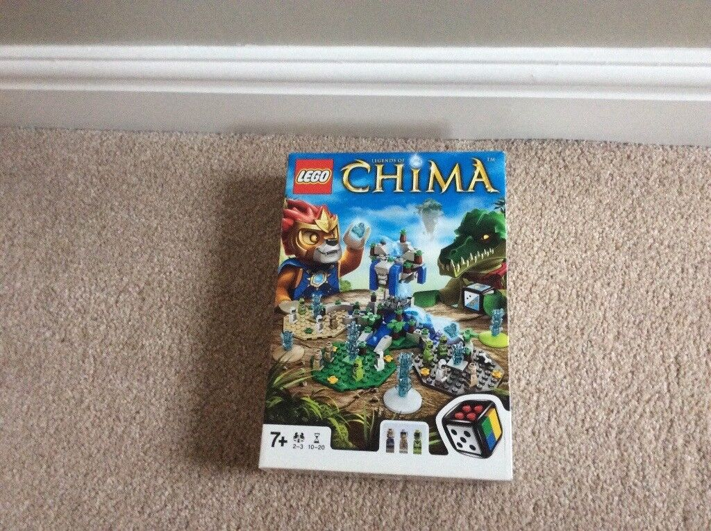 LEGO CHIMA BOARD GAME