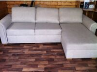BARGAIN** Ex showhouse corner sofa & bed....cost £1200 in john lewis