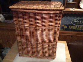 Wicker Work Basket.