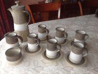 Cornish Pottery Coffee Set