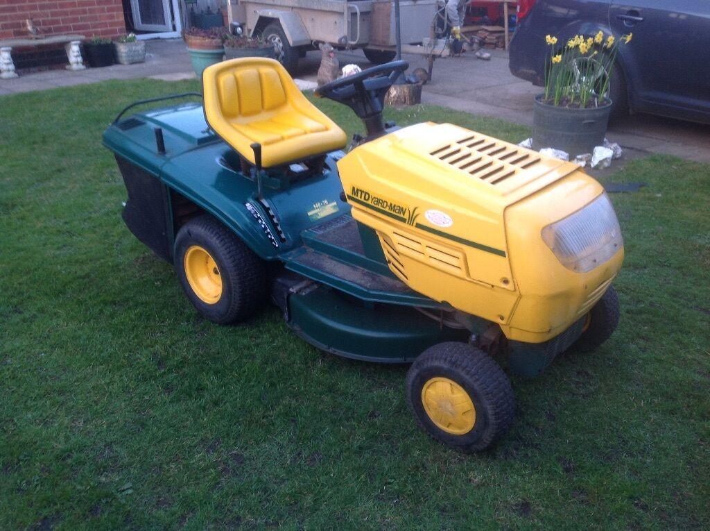 Mtd Yardman Tractors : Mtd yardman speed ride on mowr garden tractor