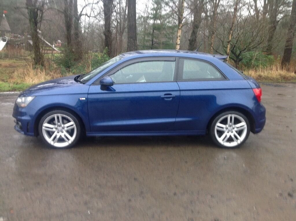 2011 audi a1 s line tdi blue 3 door in fauldhouse west lothian gumtree. Black Bedroom Furniture Sets. Home Design Ideas